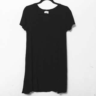 Zara T shirt Vneck Dress