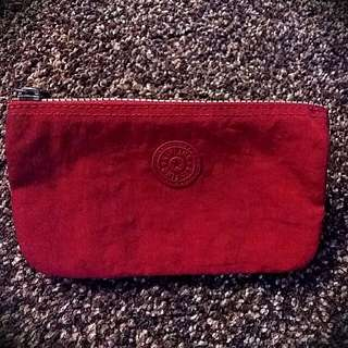 KIPLING Authentic Red Purse