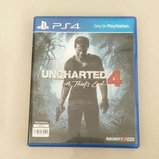 Unchartered 4 PS4