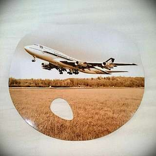 Singapore Airlines B747 Classic Paper Fan