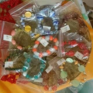 Handmade Bracelets, Beadworks