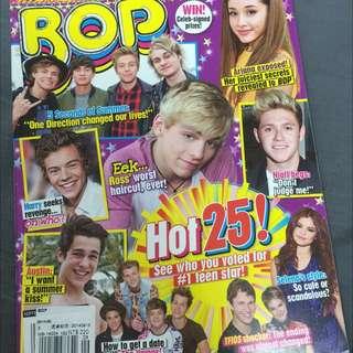 歐美青少年雜誌 Justin Bieber, One Direction, Selina Gomez, Ariana Grande, Austin Mahone