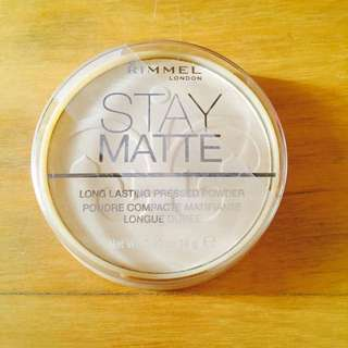 Rimmel Stay Matte #001 (Authentic)