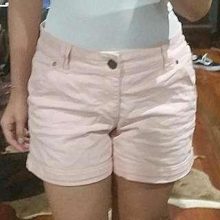 Pink Shorts Pant