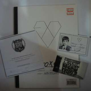 (Preloved) EXO XOXO album (Korean version) w/ d.o's card