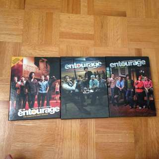 Entourage; Season 1-3 DVD