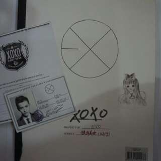 (Preloved) EXO XOXO album (Chinese version) w/ Kris card