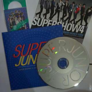 Super Junior Super Show 4 in Osaka limited edition: Mr simple disc and sticker