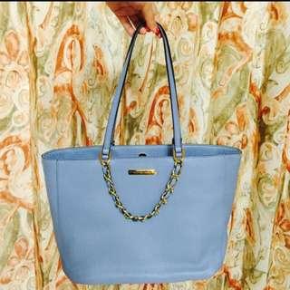 「全新美國購回」Michael Kors水藍兩用包