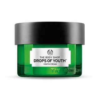 The Body Shop Drop Of Youth Cream