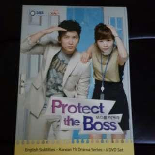Korean Drama Series Protect the Boss US Release DVD Set
