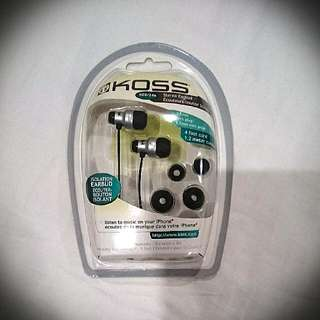 Koss KEB/24 in-ear earphones