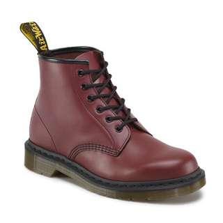 Dr.martens 101 6孔短靴