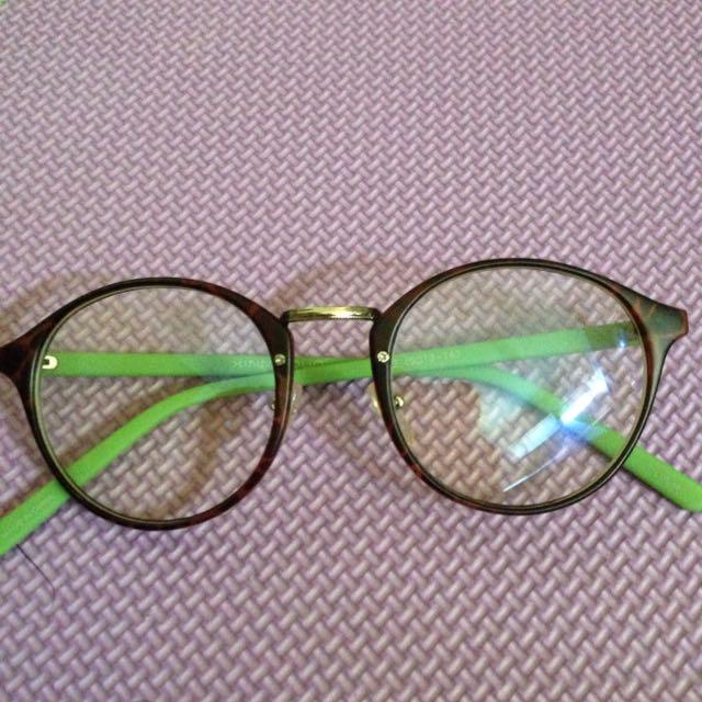 可愛撞色眼鏡💕