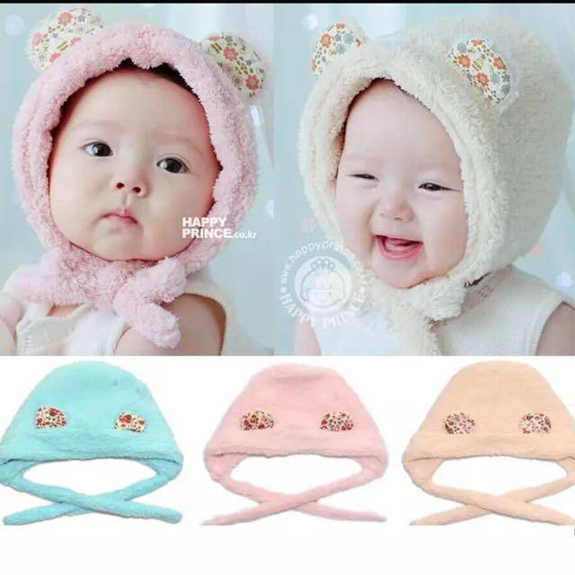 💕韓國空運來台的護耳帽子💕