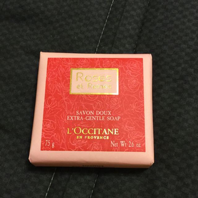歐舒丹 玫瑰皇后香氛皂 75g