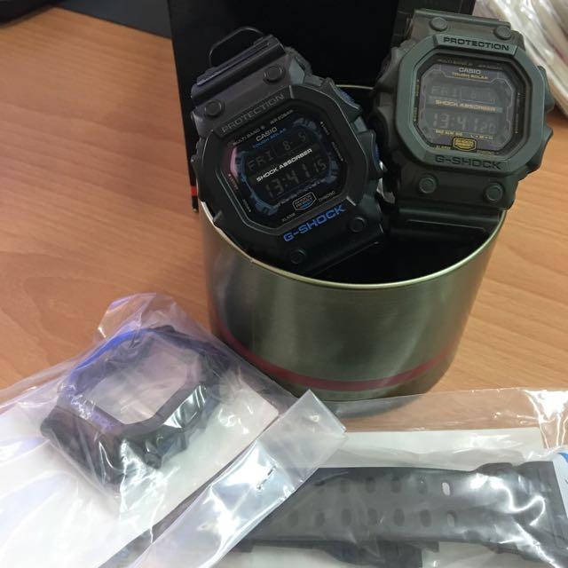 售 CASIO G-SHOCK GXW-56E 太陽能6局電波軍錶,大錶面
