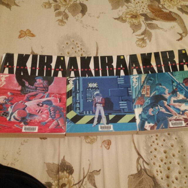 Akira Manga 1-3