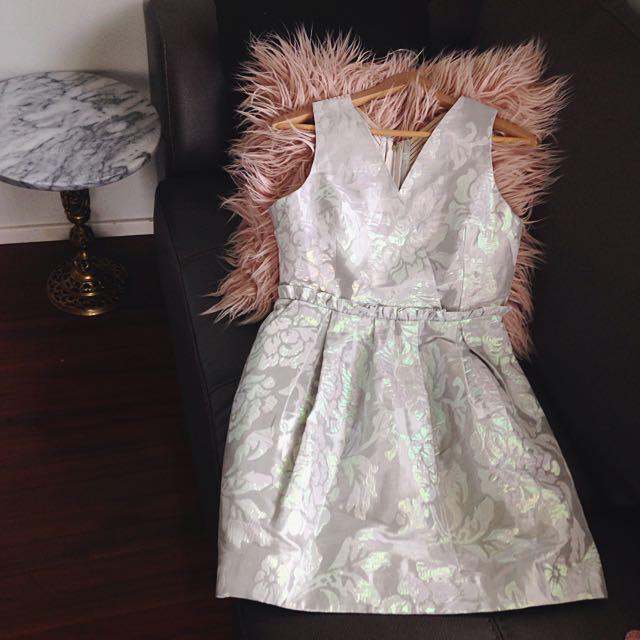 ASOS Bandage Back Tulip Dress