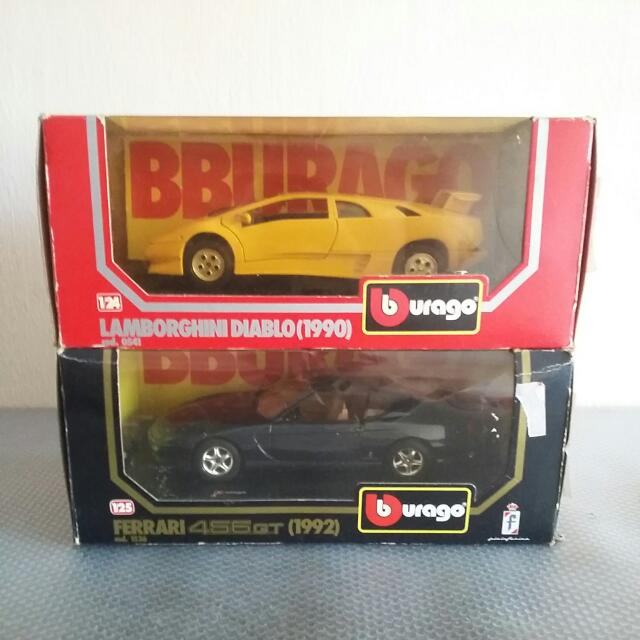 Bburago Diecast Display Car