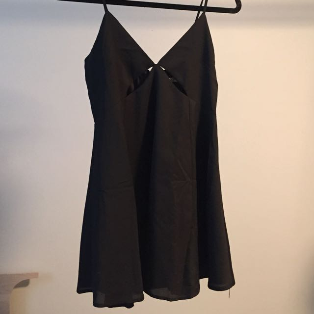 Black Cutout Tobi Dress