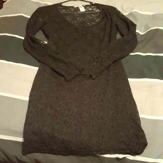 Black Size Large Supre Dress