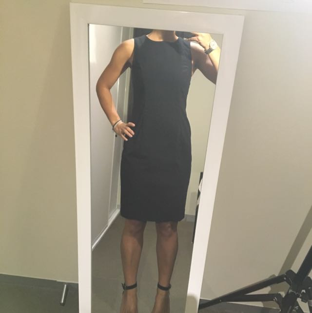 Black Work Dress Size Small
