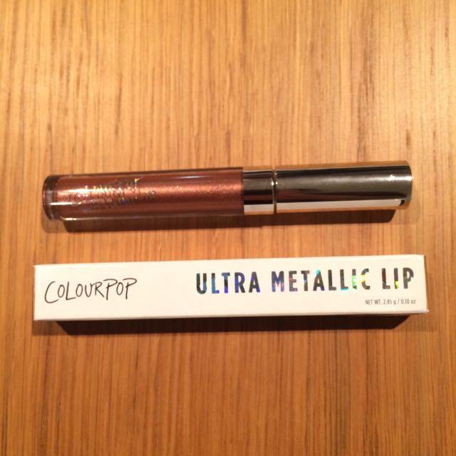 Colourpop Ultra Metallic Lip * Man Eater