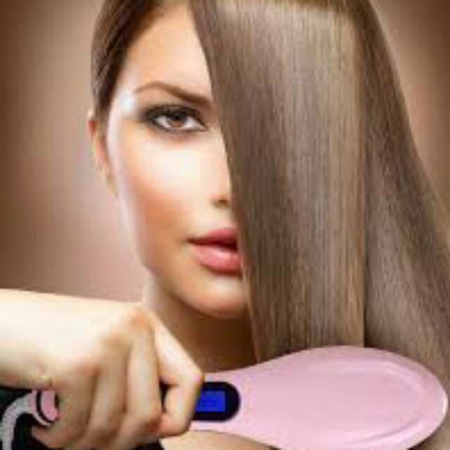 Fast Hair Brush Iron