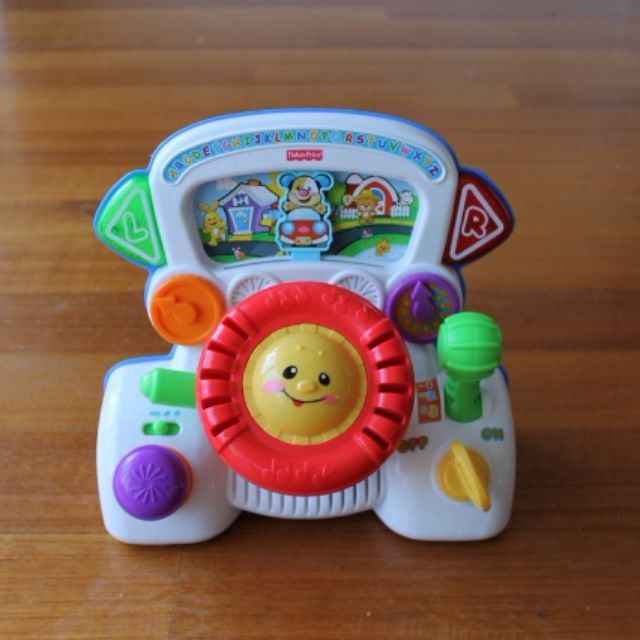 Fisher-Price Laugh & Learn Rumble & Learn Driver