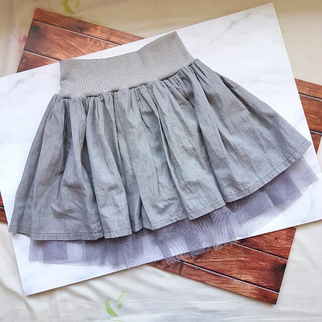Grey Ballerina Skirt