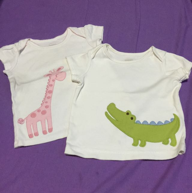 Gymboree Cotton Tees (2 For The Price Of 1)