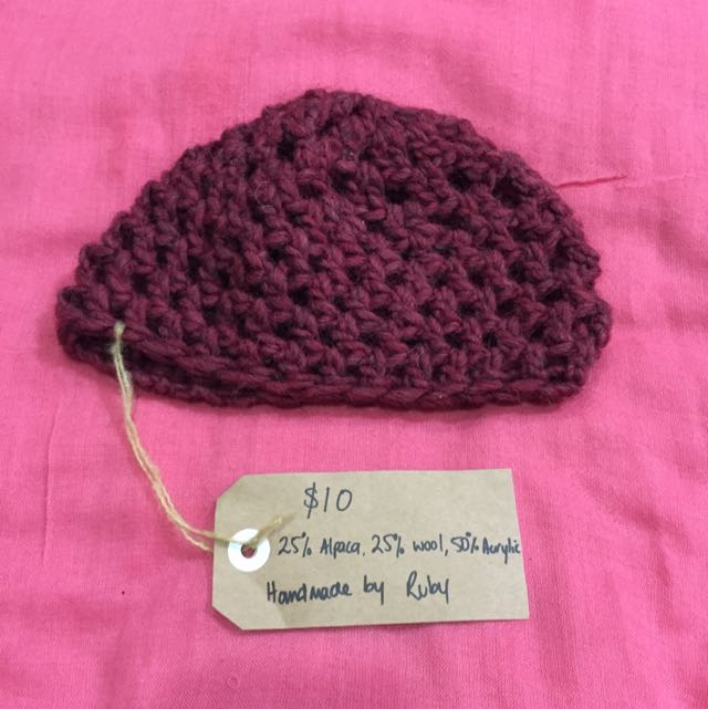 *Reduced* Kids Handmade Crochet Beanie