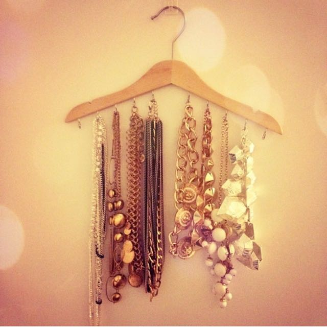 Handmade Jewellery hangers