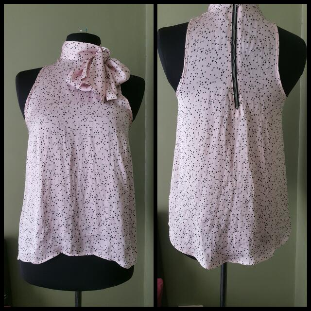 H&M Blouse. Size s/m. Small Stars Print.