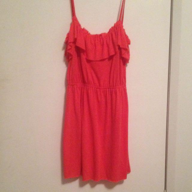 Hot pink Cute Dress