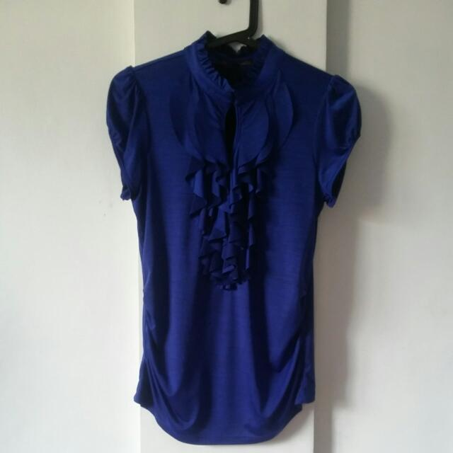 Imported Dark Blue Blouse