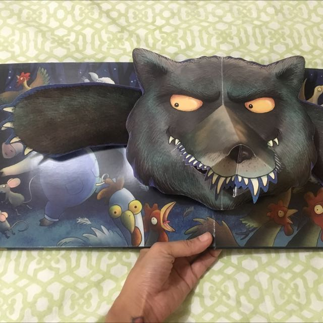 Is That You, Wolf? (Children's Pop-up Book)