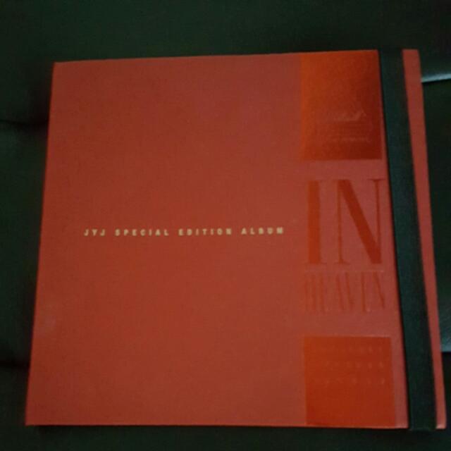 JYJ SPECIAL EDITION IN HEAVEN ALBUM