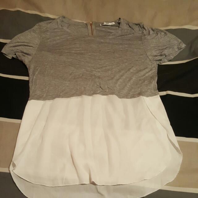 Ladies Work Shirt Size Large