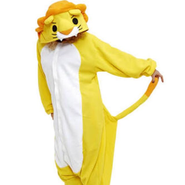 Lion Onesie For Adults