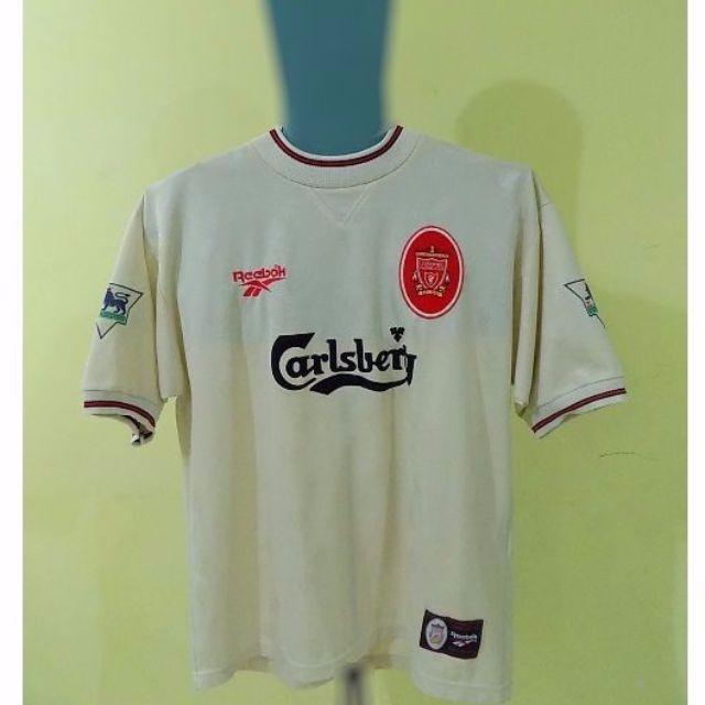c0d6c97c5f3 Liverpool FC 96  97 Away Jersey (Replica by Reebok)