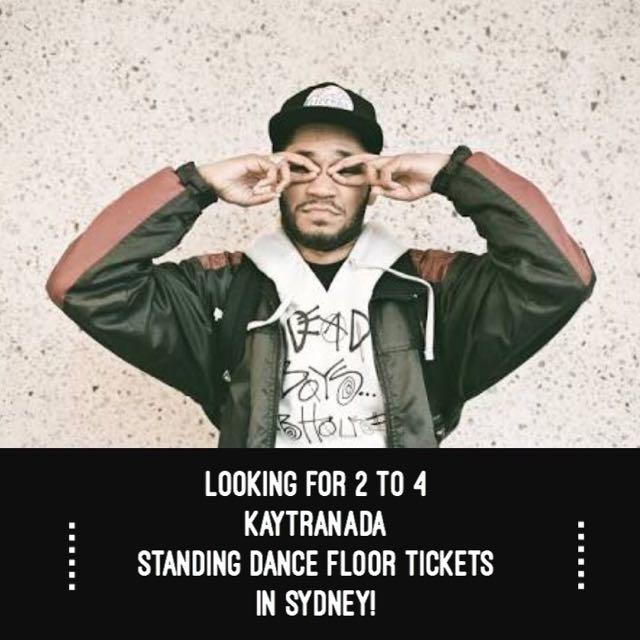 Looking For KAYTRANADA Tickets