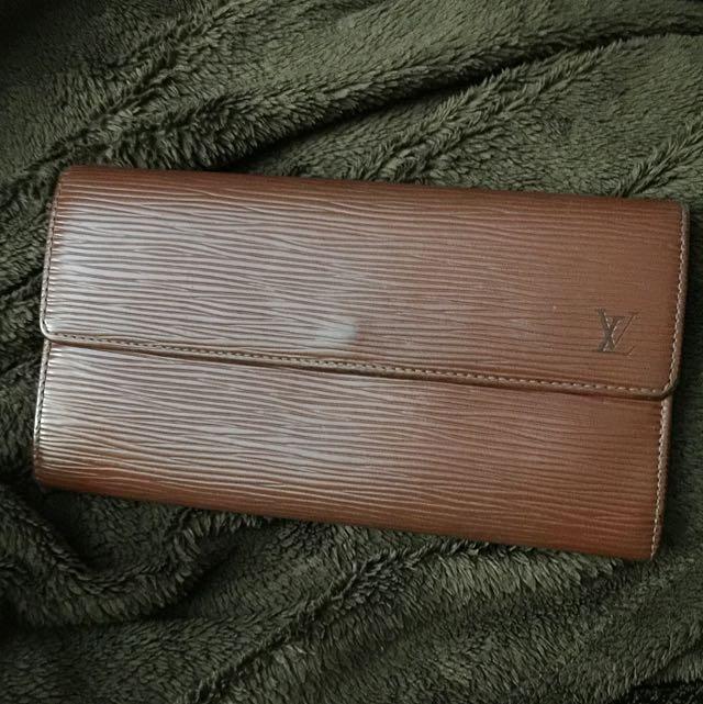 Louis Vuitton Epi Wallet Vintage