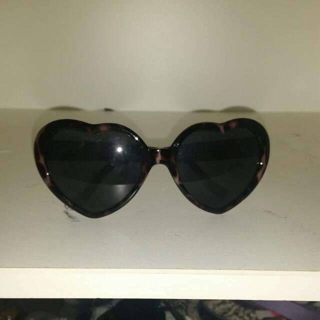 Love heart Sunglasses Brand New