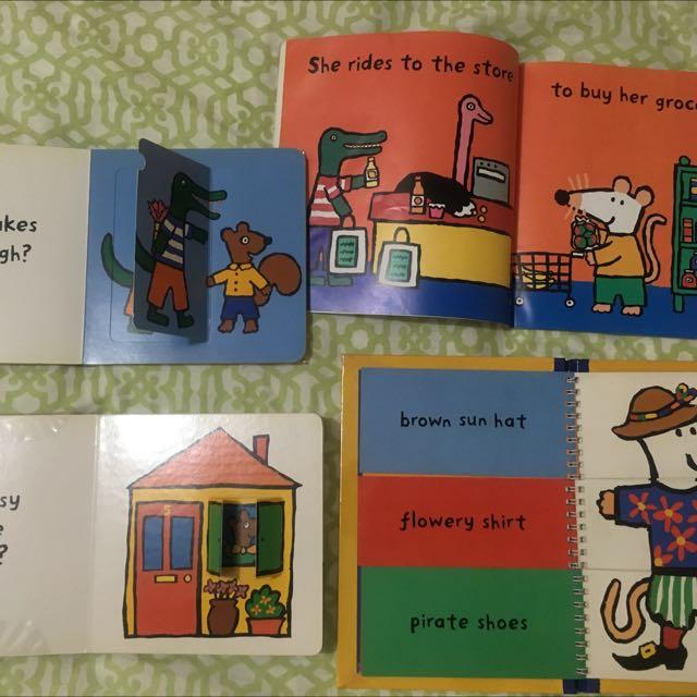Maisy Children's Books (lot of 4)