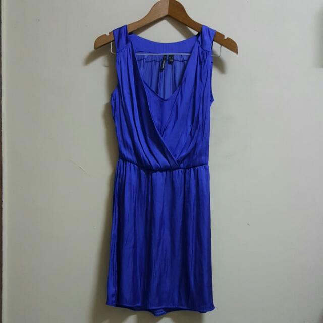 Mango Electric Blue Dress