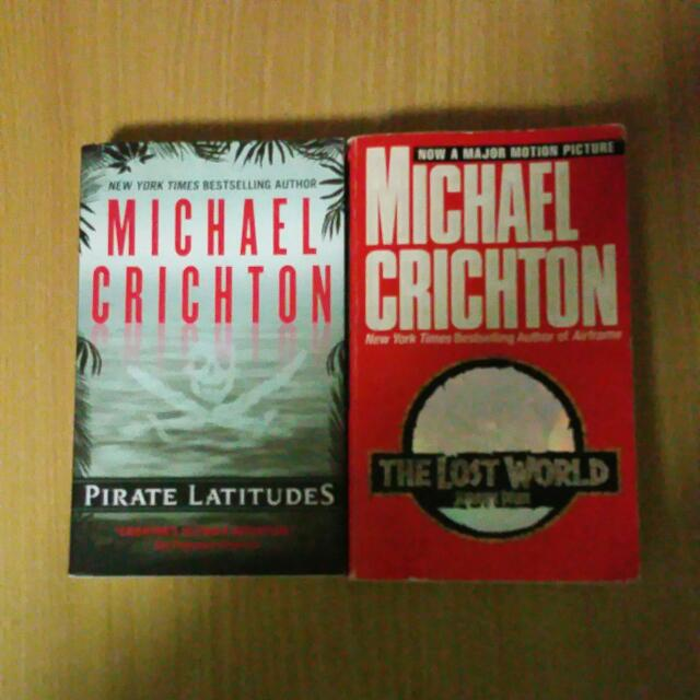 michael crighton's pirate latitude and the lost world
