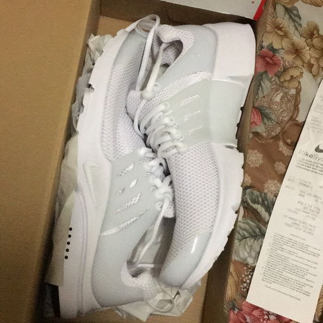 Nike Air Presto Triple White Size 10