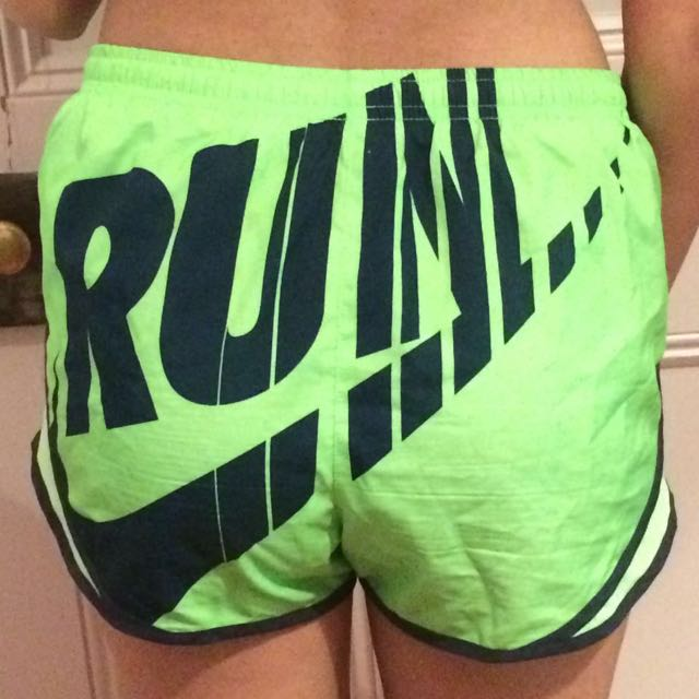 Nike Green Dri Fit Running Shorts